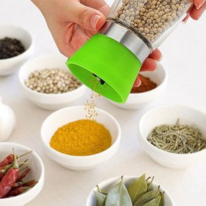 Penggiling Merica, Garam, Botol Kaca - Salt Pepper Grinder