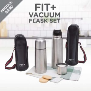Fit + Vacuum Flask Set