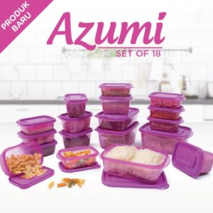 Technoplast Azumi Set of 18 Pcs