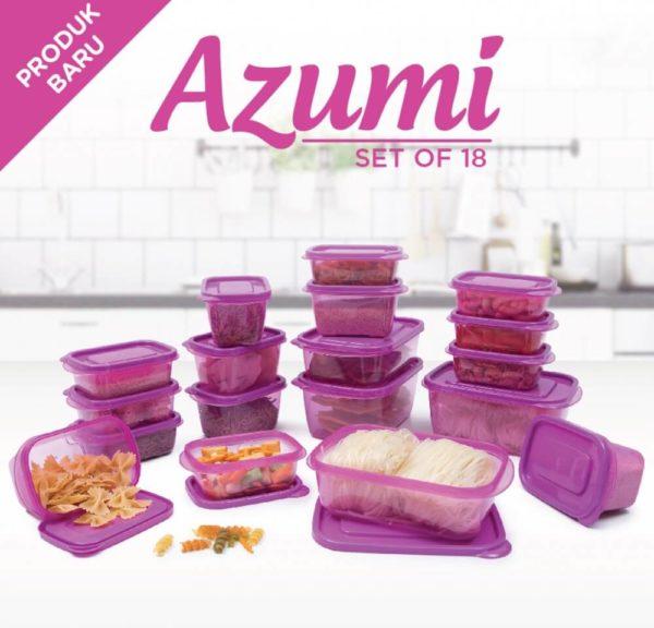 Azumi Set of 18 Pcs by Technoplast
