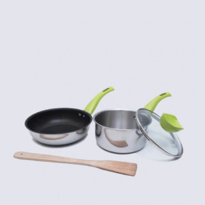 Value Kitchen Lime Set of 3 Basic