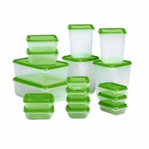 IKEA Pruta Set 17 Pcs, Food Container - Food Saver