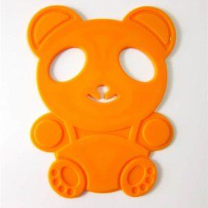 4 Pcs Little Bear Silicone Mat - Tatakan Silikon Tahan Panas