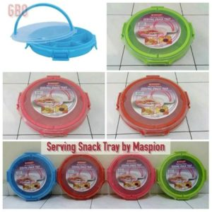 Maspion Serving Snack Tray - Toples Kue Multifungsi