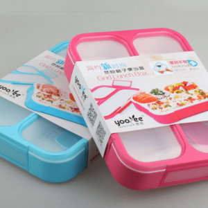 Yooyee Lunch Box 3 Sekat - Anti Bocor