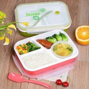 Yooyee Lunch Box 3 Sekat + 1 Tempat Sup