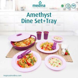 Amethyst Dine Set + Tray
