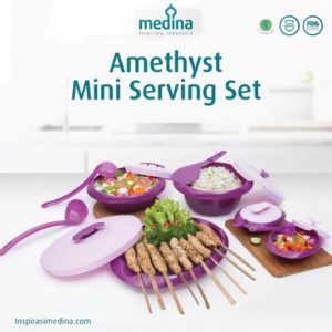 Amethyst Mini Serving Set