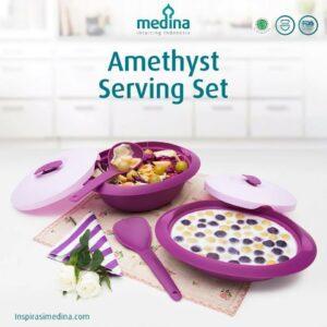 Amethyst Serving Set