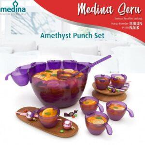 Amethyst Punch Set